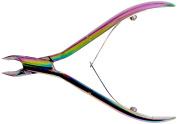 Tooltron Titanium Cuticle Nipper, Multi-Colour, 10cm