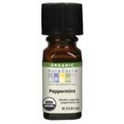 Peppermint, Natural, Essential Oil, ORGANIC, .740ml bottle - 2pc