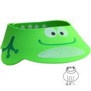 BreaDeep Cartoon Baby Kids Bath Shampoo Protect Hat Children Adjustable Shower Wash Hair Sunshade Shield Cap Visor