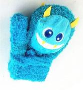 Killer Bear Mittens,Dealzip Inc Cute Warm Baby Cartoon Thick Colourful Little Monsters Gloves Unisex-baby Infant Mitten