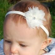 QueenMee Ballerina Baby Headband Set Baby Pearl Headband Set Ivory Baby Headband Set Peach Baby Headband Set Baptism Headband For Baby Girl