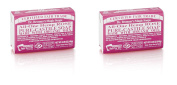 - Dr Bronner - Org Rose Soap Bar | 140g | BUNDLE by Dr. Bronner's
