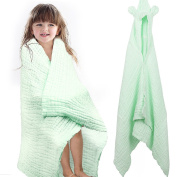 """FIRSTBABY Soft Baby Hooded Bath Towel 