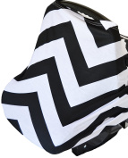 Roo Threads Infant Car Seat Canopy and Nursing Cover for Breastfeeding Baby