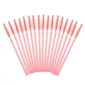 Gotd 50PCS Disposable Mini Eyelash Eye Lash Makeup Brush Mascara Wands Applicator Makeup Disposable Eyelash Mini Brushes Makeup Brushes Cosmetic Eyelash Disposable Extension Tool