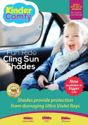 #1 Car Sun Shade (SUVs & Minivans) 2 Pack - Black Sunshade Visor Set for Babies & Kids - Clings To Rear Side Window-Cooler Car Interior- Easy Installation - Blocks 98% of UV Rays-. Bonus Gifts