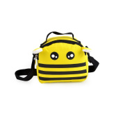 YOME Kids Messenger Bag Boy Girl Cross Body Bag Giraffe Bee Satchel Shoulder Bag