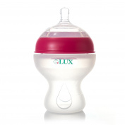LUX Nurture Baby Bottle | Anti Colic | Infant Bottles | Silicone | Breastfeeding | Nursing | BPA Free | No Leak| Easy Transition | by LUX Baby Bottle