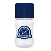 Baby Fanatic Licenced NFL 270ml Baby Bottle 1 Pack, Dallas Cowboys