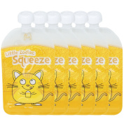 Little Zodiac Squeeze Reusable Baby Food Pouch - 6 Pack