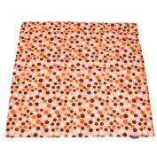Wupzey Floor Mat, Orange Dot