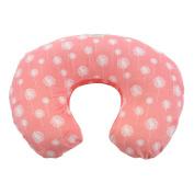 My Blankee Dandelion Minky Dot Nursing Pillow Slipcover, Coral, 46cm x 41cm x 14cm