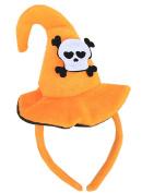 Qingsun Halloween Cute Hat Headband Headband Hoop Pumpkin Bat Hat Adult Halloween Hairband