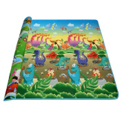 Wakrays Baby Kid Toddler Play Crawl Mat Carpet Playmat Foam Blanket Rug for In/Out Doors