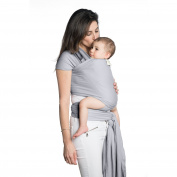 Kango Baby Sling Wrap Carrier - Breathable All Natural Cotton Baby Wrap, Lightweight Secure Durable Baby Sling, Eco Friendly Babywearing, Calm a Fussy Baby