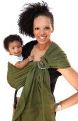 Maya Wrap ComfortFit Ring Sling & Baby Carrier - Olive Green - Medium