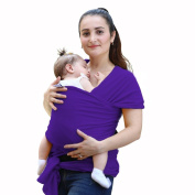 BABY SLING Natural Soft and Lightweight Baby Wrap • Gentle Cotton Baby Carrier Best For Infant & Babies • 1 month up to 2 years of age