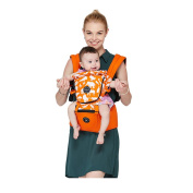 Baby Carrier with Hipseat Carrier Baby Cotton Baby Hip Seat Carrier Baby & Child Carrier Sling 360° Ergonomic & Flexible Design All Seasons Breathable 3 In 1