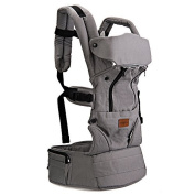 Fresh Shine Baby Carrier, Grey, Winter, 100% Cotton, Perfect for Baby, Toddlers and Infants