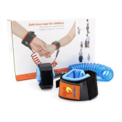 Switol Child Anti Lost Belt, Hook and loop Wrist link, Skin Friendly safety strap for kids ,up to 150cm /1.5 M
