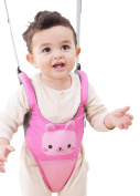Zicac Toddler Cute Animals Ultra Comfy Mesh Safety Harness Leash Adjustable Baby Walker Strap Belt