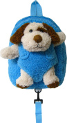 Children's Safety Harness Backpack with Removable Plush Animal