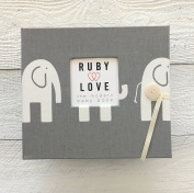 Elephants Baby Memory Book