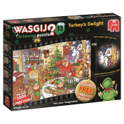 Wasgij 19148 Christmas 13 Turkey's Delight Jigsaw Puzzle