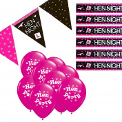 Hen Party Decorations Kit