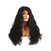 Life Diaries Lace Front Synthetic Hair Wigs Loose Body Nature Wave Hand Tied Cap Heat Resistant Glueless Wig For Black Women