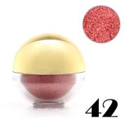 Baisidai 1 x Shimmer Pearl Loose Metallic Eyeshadow Powder Bright Eye Shadow Pigment Ball#42