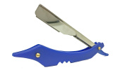 Barber Straight Razor Blue Black or Red Professional Straight Razor
