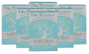 Dr. Woods Unscented Baby Mild Bar Soap with Organic Shea Butter for Sensitive Skin, 160ml