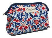 Primrose Hill Nautical Birds Collection Cosmetic Clutch, Birds