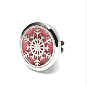 Feel Fragrance Aromatherapy Essential oil Diffusers Car Air Freshener 316L Surgical Steel locket