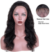 Auspiciouswig Virgin Brazilian Human Hair Lace Front Wigs Body Wave with Baby Hair for Black Women