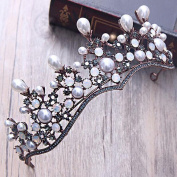 Bridalvenus Wedding Crown Princess Bridal Tiara Vintage Wreath for Women and Girls