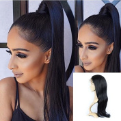 Enoya Human Virgin Hair Full Lace Wigs/Silk Top Full Lace Wigs Brazilian Silky Straight Hair Lace Wig with Baby Hair For African Americans