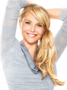 The Pony by Christie Brinkley Heat Friendly Wrap Around 32cm Ponytail Womens Hairpiece - HT14/88H Light Blonde