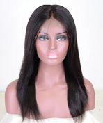 Yaki Straight Brazilian Virgin Hair 360 Lace Wigs