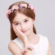 Venusvi Wedding Bohemian Flower Headband for Women and Girls