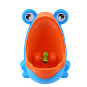Aisport Cute Loverly Frog Baby Toilet Training Children Potty Urinal Pee Trainer Urine,Kids Toddler Urinal Encourages Your Child To Pee With This Removal Toddler Training Potty,Blue