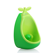 MKOOL Cute Pea Baby Urinal Child Potty Toilet Training with FREE Potty Training Game.