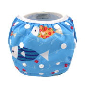 Leakproof Washable Reusable Swim Nappies For Kids 0 to 3 Years