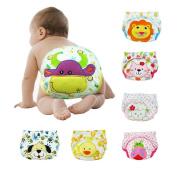 6 X Baby Toddler Girls Cute Boys Potty Training Pants reusable