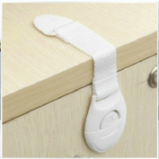 UDTEE 12PCS Lovely And Pratical Baby/Child/Infant/Toddler/Kids Safe/Secure Adjustable Multi-Purpose Cabinets/Drawers/Refridge/Oven/Microwave/Toilet Seats Strap /Latches