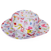 Samber Sun Hat Baby Hat Fisherman's Hat Bucket Hat Sweet Hat Beach Hat Sun-Proof for Girl on Summer