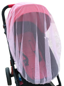 Hbtop Universal Baby Stroller Mosquito Net Travel Outdoor Full Cover Insect Bug Netting for Infant Pram Pushchair Car Seat