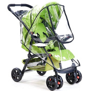 Useful PVC Rain Cover For Baby Stroller Water Proof And Wind Proof