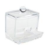 GODHL Q-tip Swab Acrylic Cotton Organiser Box Cosmetic Stick Holder Storage